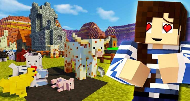 Animania Mod 1.12.2/1.11.2 (So Many Insane Animals) For Minecraft