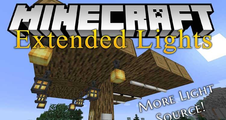 Extended Lights Mod 1.14.4