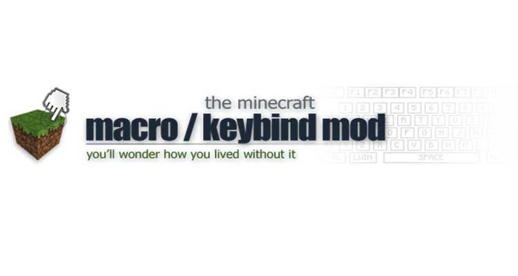 Macro/Keybind Mod 1.12.2/1.11.2 (Bind Commands to Keyboard Keys) For Minecraft