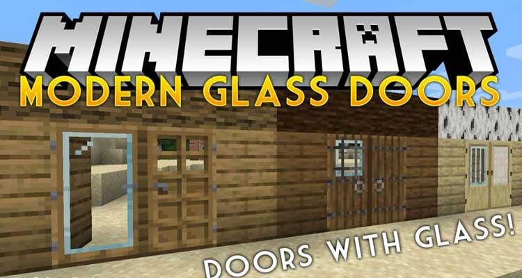 Modern Glass Doors Mod 1.14.4