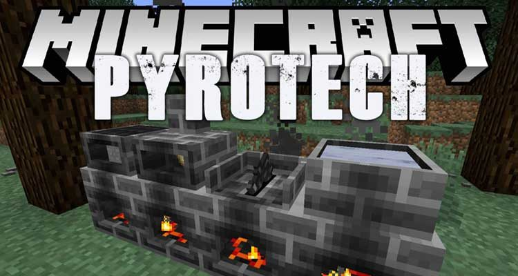 Pyrotech Mod 1.12.2 (Awesome Hardcore Survival Mod) For Minecraft