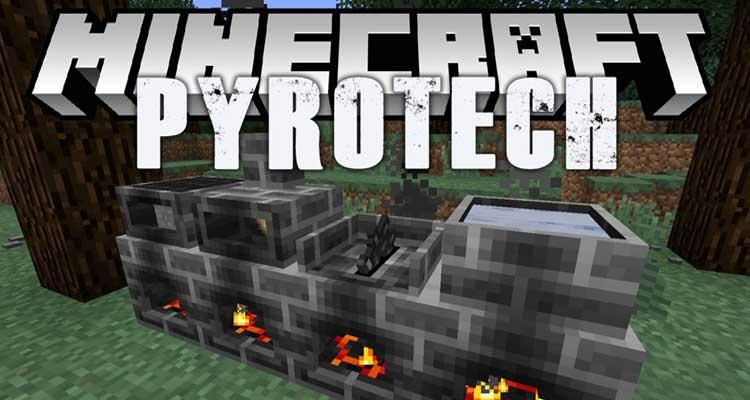 Pyrotech Mod 1.12.2