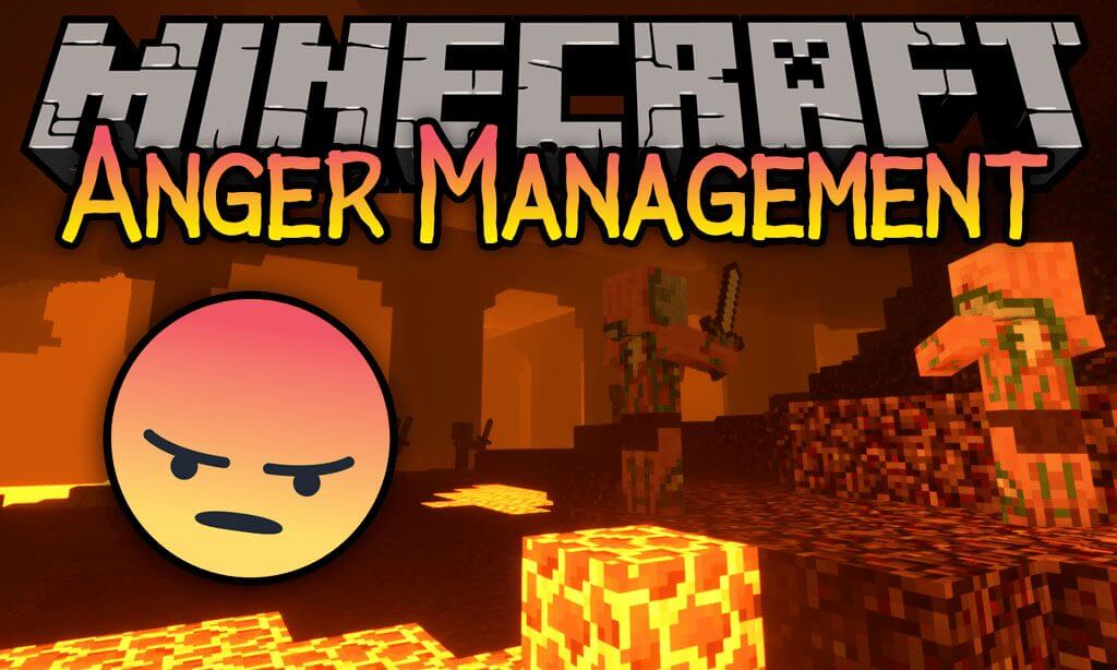 Anger Management Mod 1.15.1/1.14.4 (Pigmen Calm When A Player Die) For Minecraft