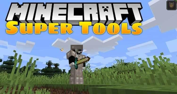 Super Tools Mod 1.14.4/1.14.3 (Endgame Tools & Armors) For Minecraft