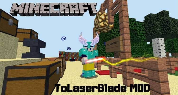 ToLaserBlade Mod 1.14.4/1.12.2 (Simple Sword with a Laser Blade) For Minecraft