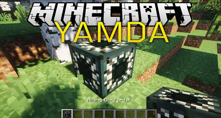YAMDA Mod 1.14.4/1.12.2 (Yet Another Mining Dimension Attempt) For Minecraft