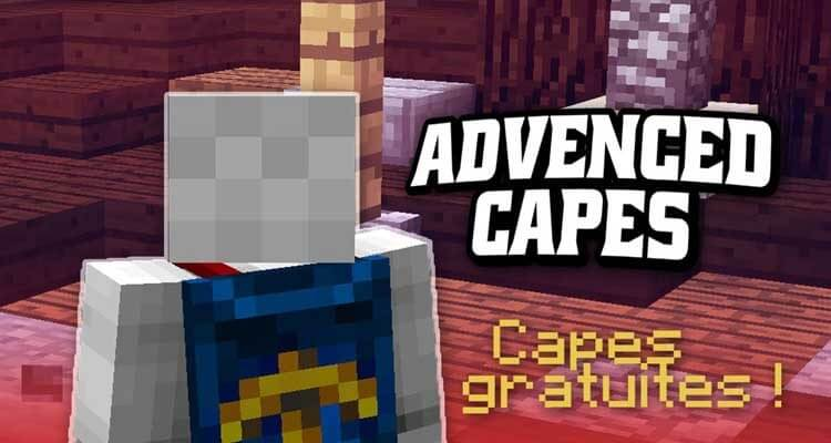 Advanced Capes Mod 1.14.4/1.12.2 (Free Minecraft Capes) For Minecraft