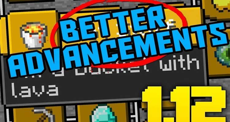 Better Advancements Mod 1.14.4/1.12.2 (New Advancements System) For Minecraft