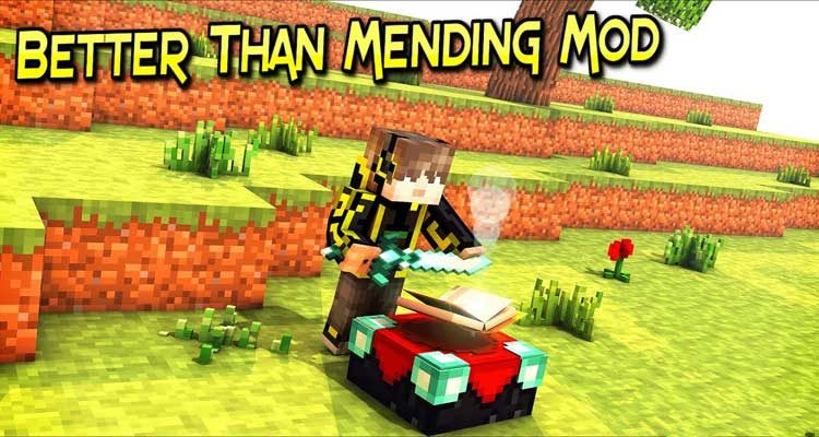 Better Than Mending Mod 1.14.4/1.12.2 (Repair Item by Experience) For Minecraft