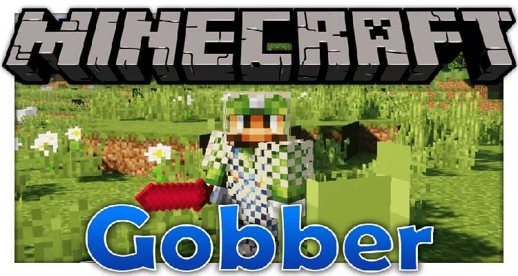 Gobber Mod 1.14.4/1.12.2 (Add Many New Things For Minecraft) For Minecraft