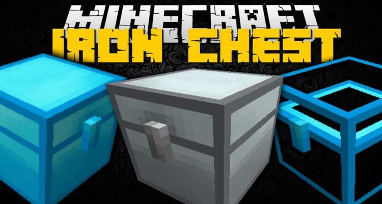 Iron Chests Mod 1.14.4/1.12.2 (Better Than Vanilla Chests) For Minecraft