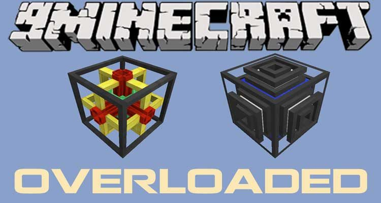 Overloaded Mod 1.14.4/1.12.2 (Server Friendly Endgame Items) For Minecraft