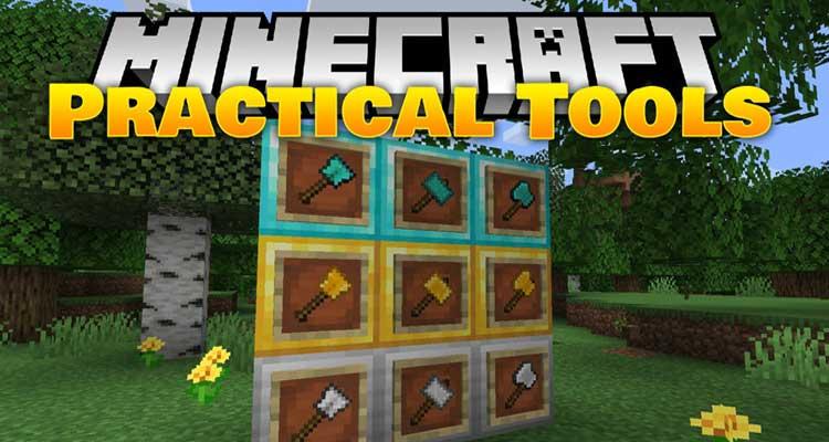 Practical Tools Mod 1.14.4/1.14.3