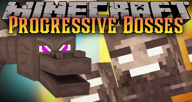 Progressive Bosses Mod 1.14.4/1.12.2 (Hardcore Ender Dragon and Wither) For Minecraft