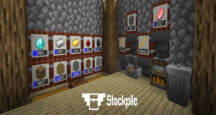 Stockpile Mod 1.14.4/1.14.3 (A Storage Mod for Modern Minecraft Versions) For Minecraft