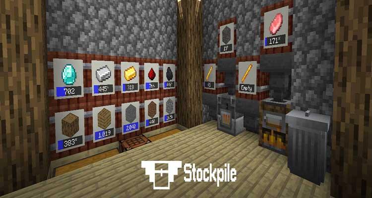 Stockpile Mod 1.14.4/1.14.3