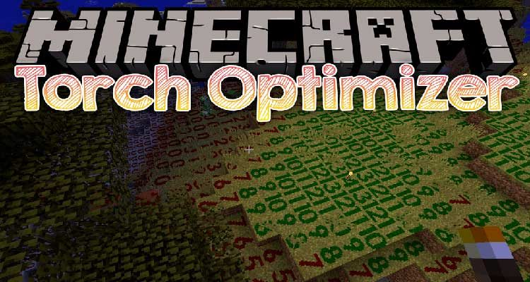 Torch Optimizer Mod 1.14.4/1.12.2 (Torch Placement Indicator) For Minecraft
