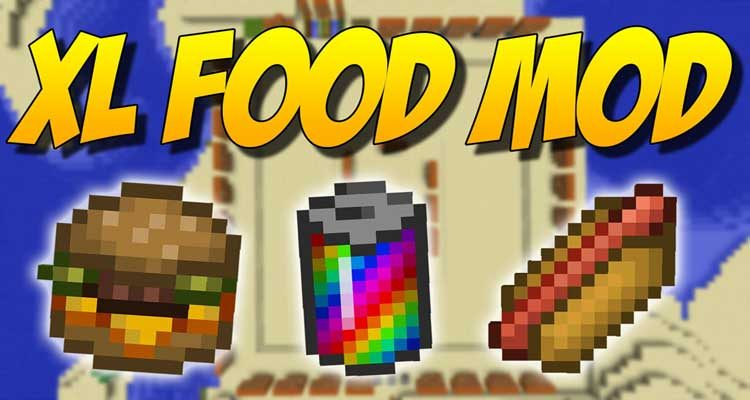 XL Food Mod 1.14.4/1.12.2 (New Crops and Foods) For Minecraft