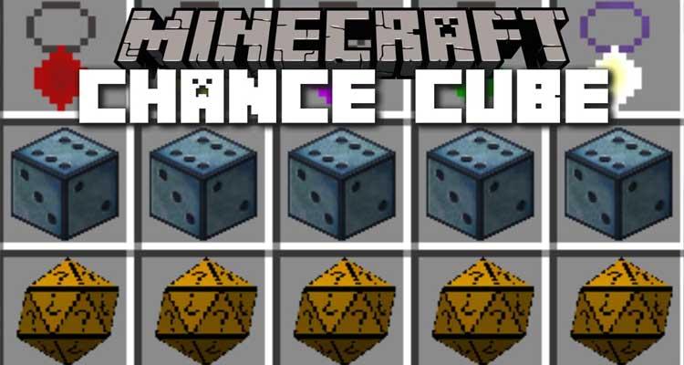 Chance Cubes Mod 1.14.4/1.12.2