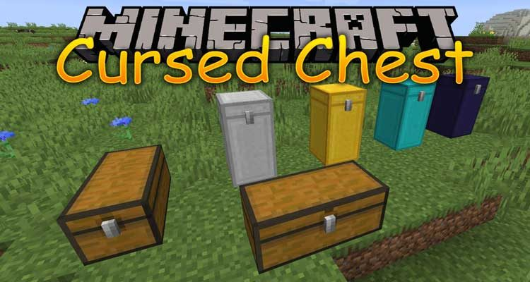 Cursed Chest Mod 1.14.4/1.14.3 (Adds Iron Chests with a Twist) For Minecraft