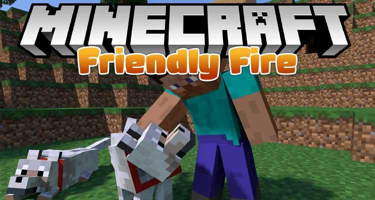 Friendly Fire Mod 1 14 4 1 12 2 Immortal Pets For Minecraft Minecraft Mods