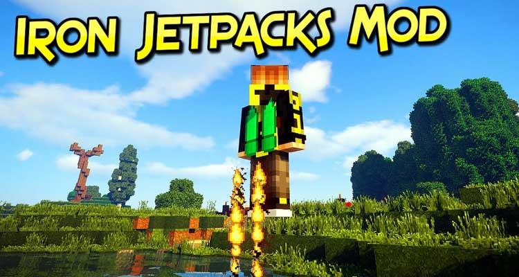 Iron Jetpacks Mod