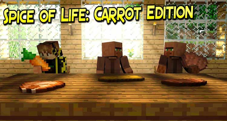 Spice of Life Carrot Edition Mod 1.14.4/1.12.2