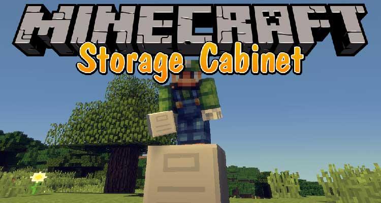 Storage Cabinet Mod 1.14.4/1.12.2