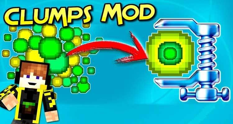 Clumps Mod 1.15.2/1.14.4/1.12.2