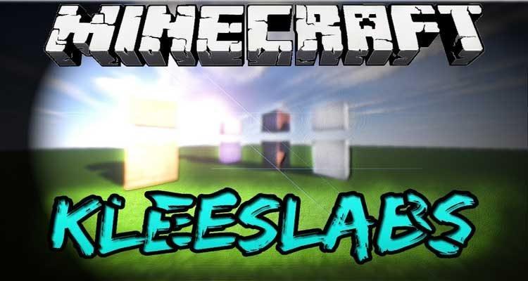 KleeSlabs Mod 1.15.2/1.12.2/1.10.2