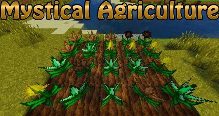 Mystical Agriculture Mod 1.15.1/1.14.2/1.12.2