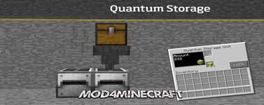 QuantumStorage Mod 1.15.2/1.14.4/1.12.2