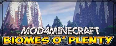 Biomes O' Plenty Mod 1.15.2/1.14.4/1.12.2