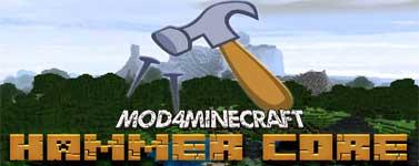 Hammer (Lib) Core Mod 1.15.2/1.13.2/1.12.2