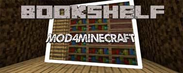 Bookshelf Mod 1.15.2/1.4.4/1.12.2