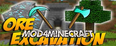 Ore Excavation Mod 1.15.2/1.14.2/1.12.2