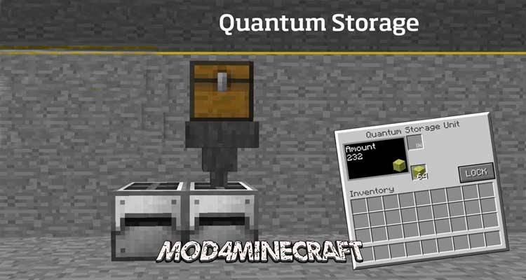 Quantum Storage Mod 1.14.4/1.12.2