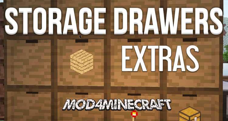 Storage Drawers Extras Mod 1.12.2/1.11.2