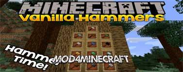Vanilla Hammers Mod 1.14.4