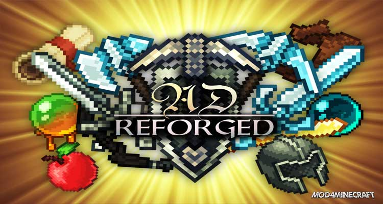 AD - Reforged Resource Pack 1.10.2/1.9.4/1.8.9