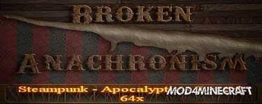 Broken Anachronism v14 – Plant Overhaul and 1.7 Blocks Resource Pack 1.7.10