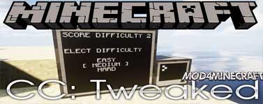 CC: Tweaked Mod 1.16.2/1.15.2/1.14.4/1.13.2