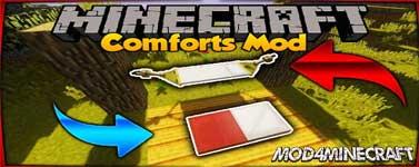 Comforts Mod 1.16.2/1.5.2/1.14.4