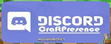 CraftPresence Mod 1.16.2/1.15.2/1.14.4