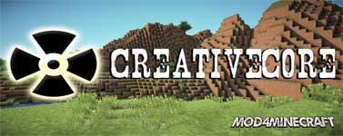CreativeCore Mod 1.16.2/1.15.2/1.14.4/1.12.2