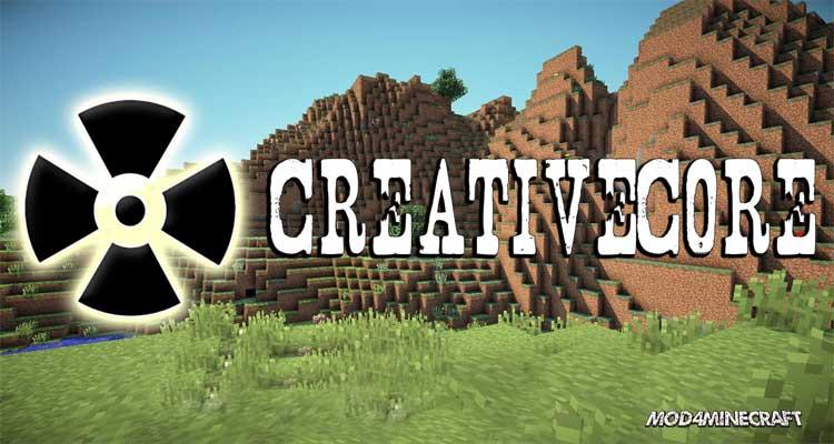 CreativeCore Mod 1.15.2/1.14.4/1.12.2
