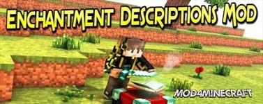 Enchantment Descriptions Mod 1.16.2/1.15.2/1.14.4