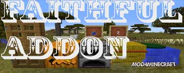 Faithful 32x 3D Add-On Resource Pack 1.9.4/1.8.9