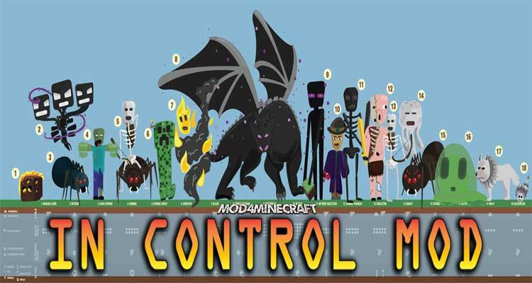 In Control! Mod 1.15.2/1.12.2/1.11.2