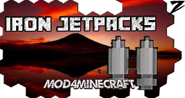 Iron Jetpacks Mod 1.15.2/1.14.4/1.12.2
